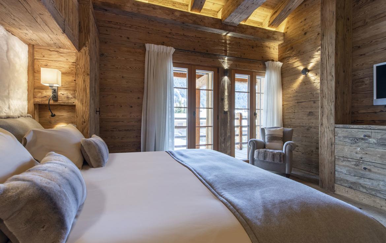 heinz-immobilier Luxueux appartement - chambre double balcon - Résidence Centre Verbier