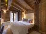 heinz-immobilier Luxueux appartement - chambre double invités - Résidence Centre Verbier