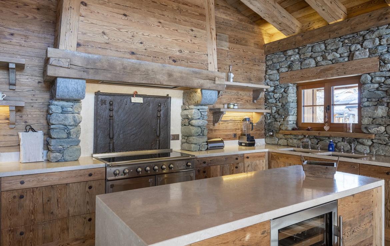 heinz-immobilier Luxueux appartement - cuisine complètement équipée - Résidence Centre Verbier