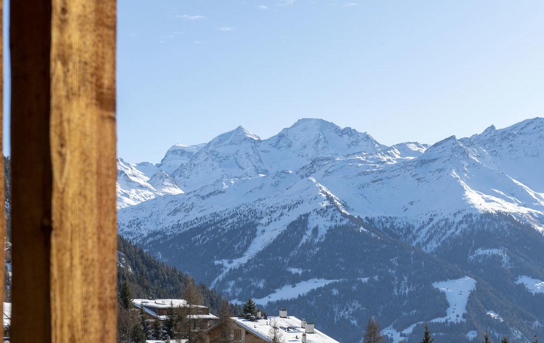 heinz-immobilier Luxueux appartement Verbier avec vue sur les alpes