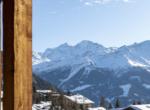 heinz-immobilier Luxueux appartement - balcon vue sue les alpes - Résidence Centre Verbier