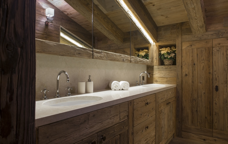 heinz-immobilier Luxueux appartement Verbier avec salle de bain privative