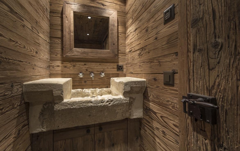heinz-immobilier Luxueux appartement Verbier - pierre naturelle