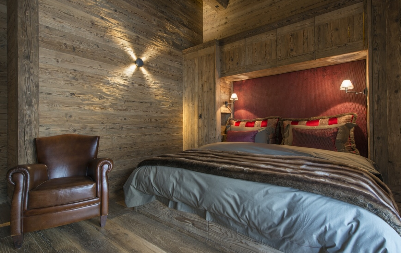 heinz-immobilier Luxueux appartement Verbier - chambre double