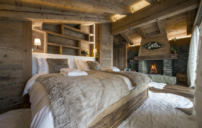 heinz-immobilier Luxueux appartement Verbier suite avec cheminée
