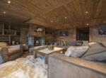 heinz-immobilier Luxueux appartement - Salon parquet en bois - Résidence Centre Verbier