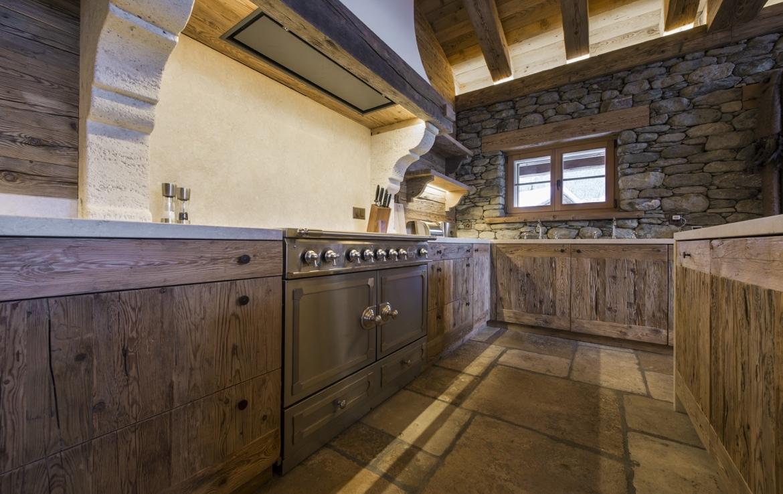 heinz-immobilier Luxueux appartement Verbier cuisine équipée