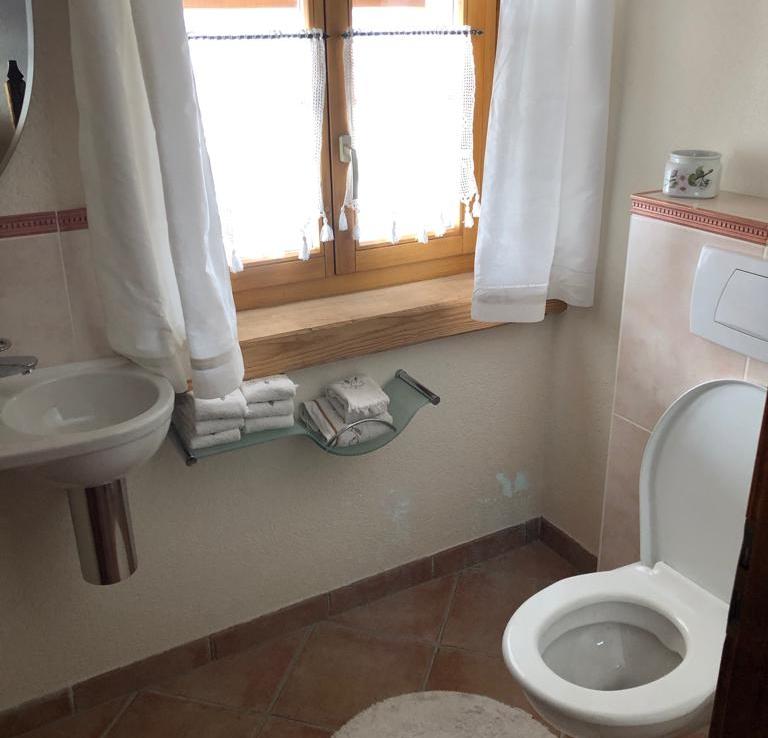 Chalet à vendre à Verbier - toilettes