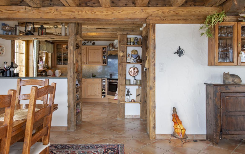 Chalet for sale in Verbier - kitchen